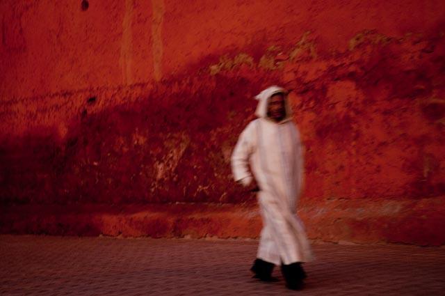 Red Medina Wall